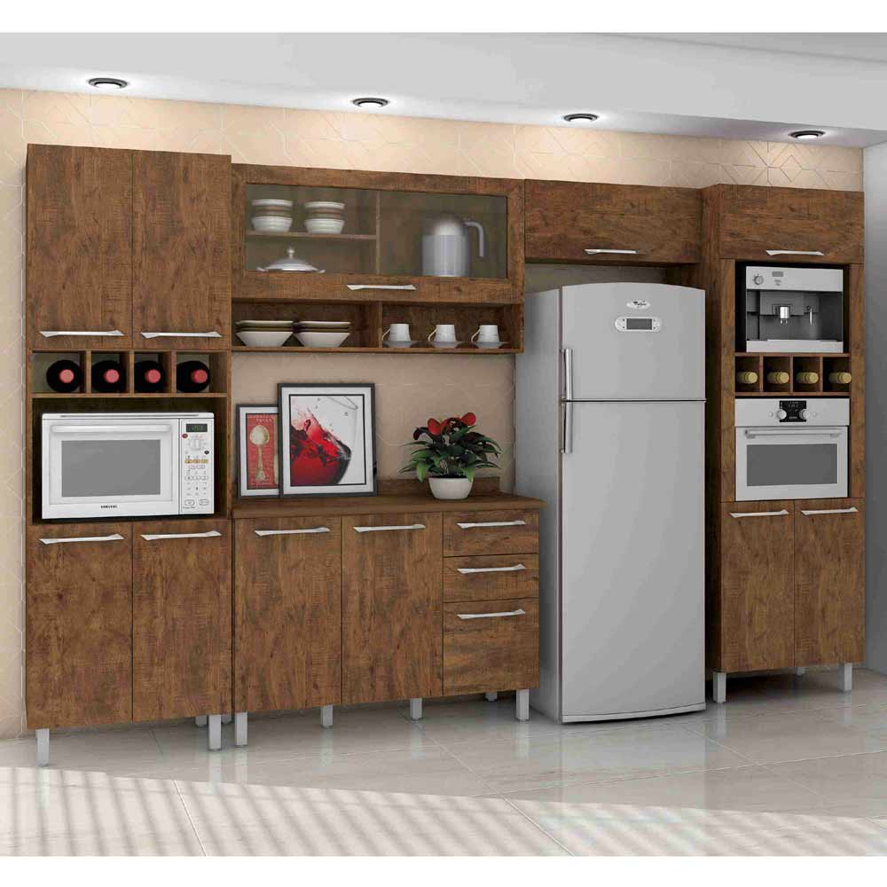 Cozinha valdemoveis p rola eletrotania - Armarios para sala de estar ...